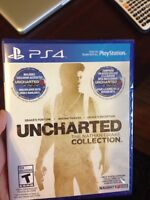 Uncharted Collection for PS4