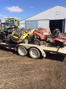 Parting out can am outlanders