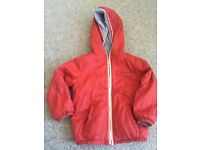 Boys red or grey jacket 2-3 years