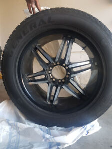 Four new Tires and rims for sale