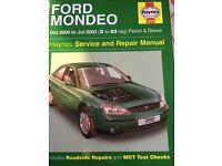 Ford Mondeo service and repair manual.