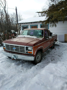 84 ford f150 XLT pickup 2wd for sale or trade