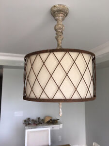 Gorgeous very current living room light fixture