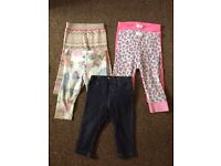 Girls Leggings - 6-9 months