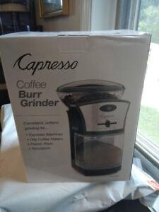 Coffee Burr Grinder - brand new - Moulin à cafe
