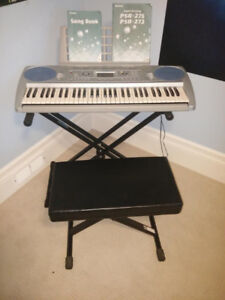 Yamaha PSR-27x (with stand and seat).