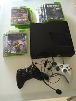 **$225** 500 GB XBOX 360 S + 11 GAMES AND ACCESSORIES