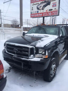 2002 Ford SD F450 with Pick up Boom XL