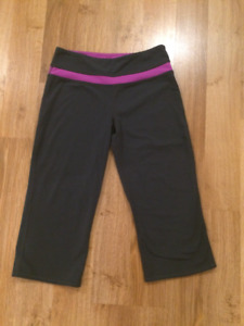 *Roots Pink & Grey Yoga Pants