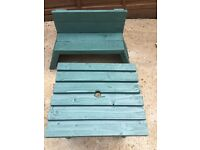 Garden table and bench children's hand made £20