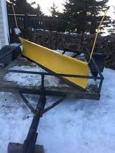 Side by side snow plow for sale...