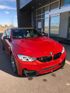 2017 BMW M4 Ultimate/Competition package with titanium exhaust