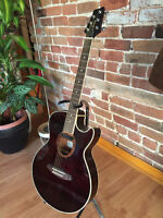 Acoustic Electric Ibanez SX72TBC Guitar for sale with case+strap
