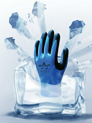 Showa 477 Insulated Nitrile Foam Grip Glove Waterproofwindproof 1 Pr M - 2xl