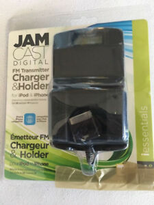 JAM CAST - FM Transmitter with LCD Display - iPod iPhone G8