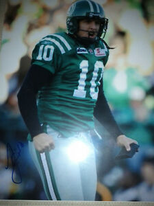 SASKATCHEWAN ROUGHRIDERS AUTOGRAPHED CFL FOOTBALL FAN PACK Edmonton Edmonton Area image 5