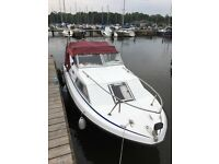 2 Berth Ernecraft Cruiser 21ft with 40hp Outboard Engine Circa 1988