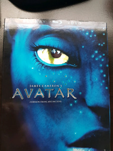 AVATAR Blue Ray  DVD- excellent condition 10$