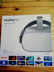 Oculus Go 64gb Fantastic condition stand alone head set for sale,