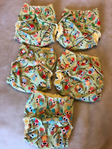 Applecheeks Style cloth diaper  envelope covers Size ONE