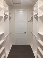 Customize your closet with our Certified Carpenters