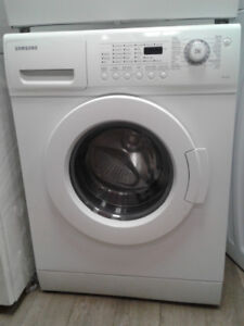 "DRYER SAMSUNG WHITE 24"" FRONT LOAD"