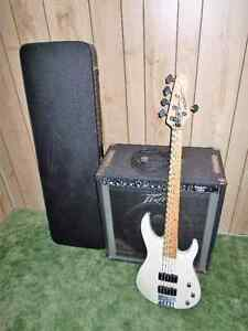 BASS GUITAR AND AMP 400.00 OBO