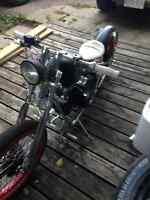 Hard Knox Kikker Old School Bobber Kit Bike