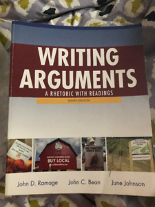 Writing Arguments: A Rhetoric with Readings (9th ed)