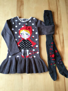 Vêtements fille 4 ans: billieblush 2x2 catimini next