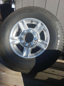 BRAND NEW TIRES/RIMS OFF 2017 F350