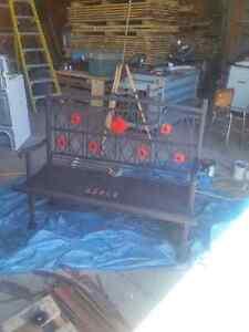 custom Furniture.  live edge table legs and bases London Ontario image 6
