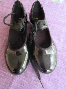 Bloch Patent Leather Tap Shoes - Size 6.5 M  Great Shape