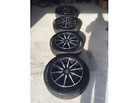 "17"" Wolfrace Alloys With All Good Michelin Tyres"