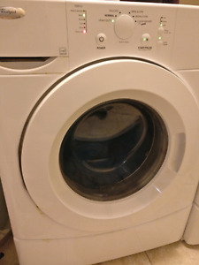 Washer - Whirlpool HE front loader, matching dryer available