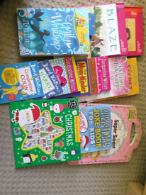 Mixed selection of kids books