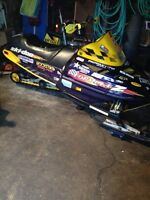 1998 Skidoo Formula Z 670 trade or cash