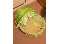 Travel Moses basket baby cot