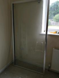 Pivit Shower door