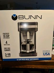 Bunn Speed  Brew Elite Black & Chrome Coffee Maker