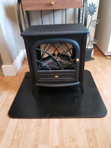 Electric fire place heather