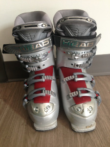 24.5cm  Head downhill skiing boots