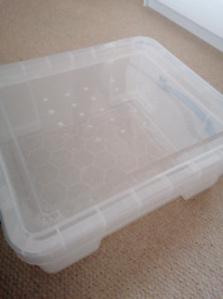 Hamster travel/temporary cage