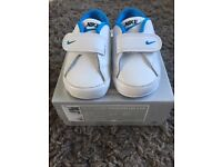 Baby Nike courts 3-6 months size 2