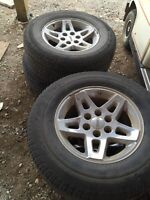 Stock GMC rims and tires