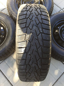 4-Nokian Winter Tires (Used) West Island Greater Montréal image 3