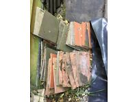 Mixed roofing tiles