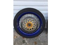 Supermoto wheels TM / Honda CRF's
