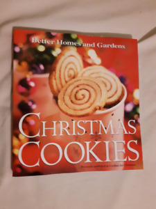Better Homes and Gardens Christmas Cookies book