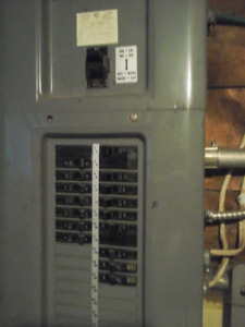 200 amp electrical panel $180 or B/O